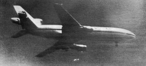 United Airlines flight 232 on approach. Courtesy NTSB, public domain.