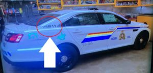 Fake RCMP cruiser used by mass shooter in Nova Scotia.