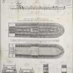 Slave ship diagram (Wikimedia).