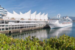 Cruise ship, Canada Place, Vancouver